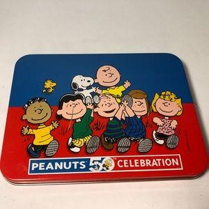 Peanuts 50th Celebration Collector Tin